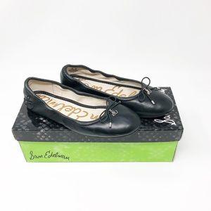 Sam Edelman Shoes - Sam Edelman Felicia Leather Ballet Flats Black 5.5